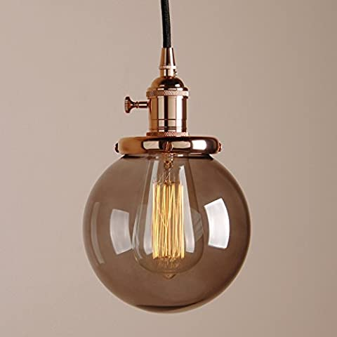 Pathson Vintage Modern Industrial Edison Pendant Light Loft Bar Kitchen