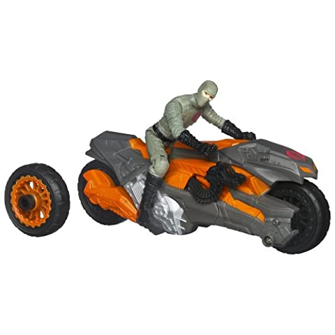 GI Joe Retaliation action figure vehicle COBRA WHEEL BLASTER BIKE