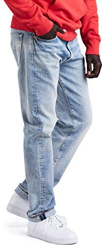 Levis Herren Jeans 501 ORIGINAL FIT 00501-2550 Hellblau, Hosengröße:32/32