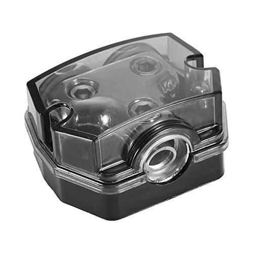 omverteilung Car Audio Stromverteilung 1 * 0GA In 2 * 0GA Out Block Splitter ()