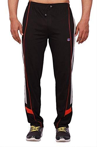 Vimal Men's Cotton Blend Track Pants Black(XXL)