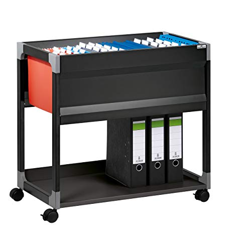 Durable 378401 System File Trolley 90 A4) schwarz