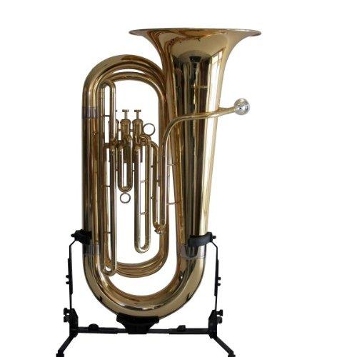 B - Tuba, goldmessing, 3-ventilig mit Koffer