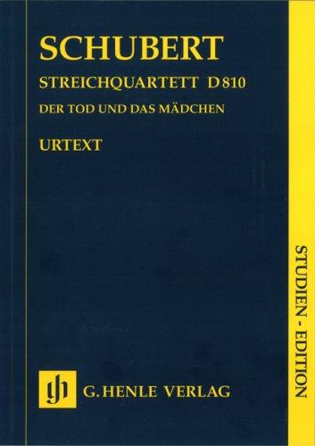 Streichquartett d-moll D 810 (Der Tod und das Mädchen); Studien-Edition