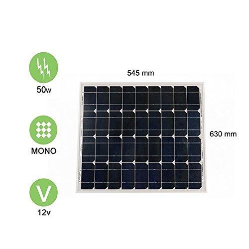 Panel Solar 50W-12V monocristalino–Victron Energy