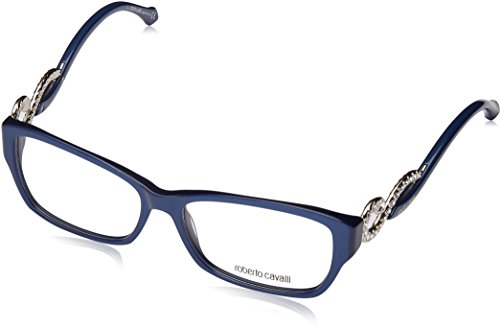 Roberto Cavalli Damen Rc0937 092-55-15-140 Brillengestelle, Blau, 55