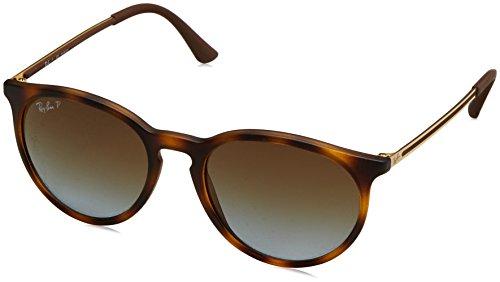 Rayban Herren Sonnenbrille 4274 Rubber Havana/Polargradientbrown, 53
