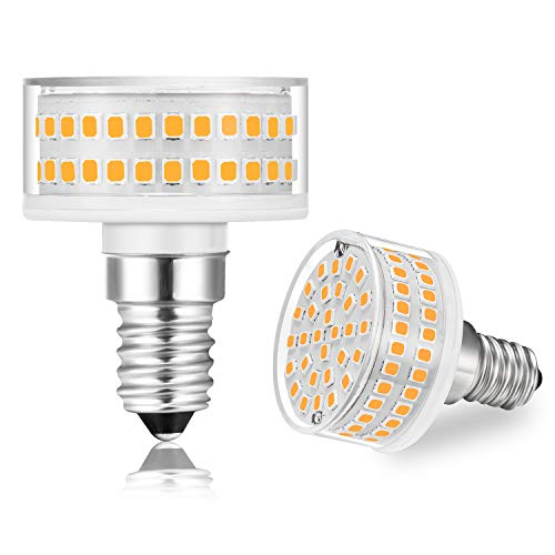 E14 LED Dimmbar Lampen 7W ersetzt für 60 Watt Halogenlampen, led e14 SES Leuchtmittel Warmweiß 3000K, 600lm, 360 ° Abstrahlwinkel, AC 220-240V, 1er Pack