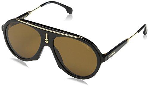 Carrera Unisex-Erwachsene Flag 70 807 Sonnenbrille, Schwarz (BLACK/BROWN), 57