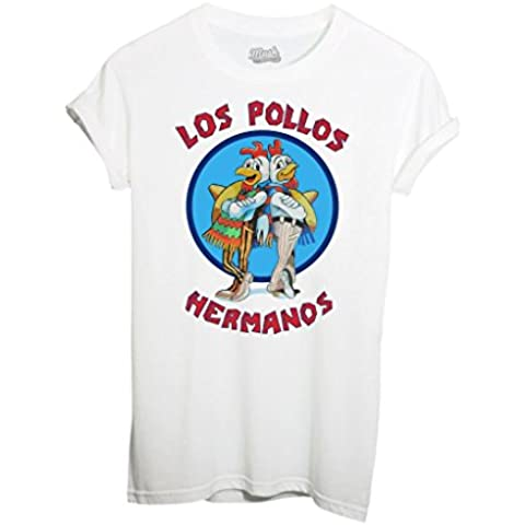T-Shirt LOS POLLOS HERMANOS BREAKING BAD - FILM by iMage Dress Your Style - Donna-M-BIANCA