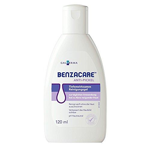 Benzacare Anti-Pickel Tiefenwirksames Reinigungsgel, 120 ml Gel