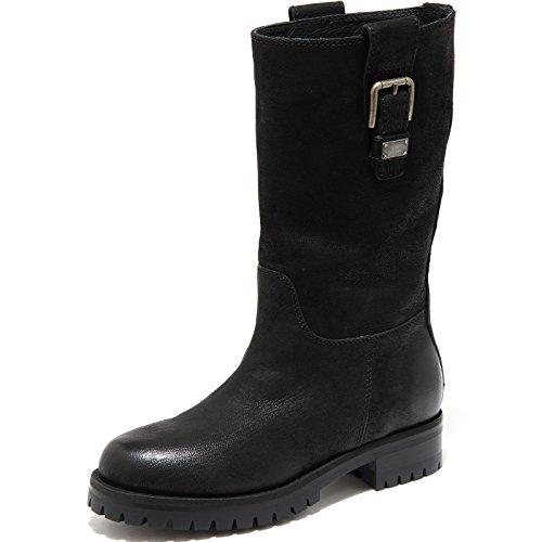 4849H Stivali Donna DOLCE&GABBANA D&G Biker tubo Scarpe Boots Shoes Women [36] -