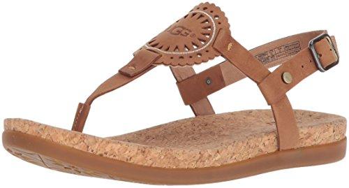 UGG Australia Damen Sandaletten Ayden II 1020063-ALM braun 669654 - Uggs Einlegesohlen Frauen