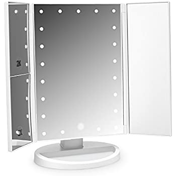 Globrite Lighted Vanity Mirror With 24 Led Lights Touch