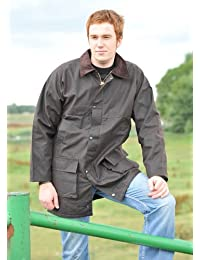 Unisex Hunter Bolton Unpadded Wax Jacket