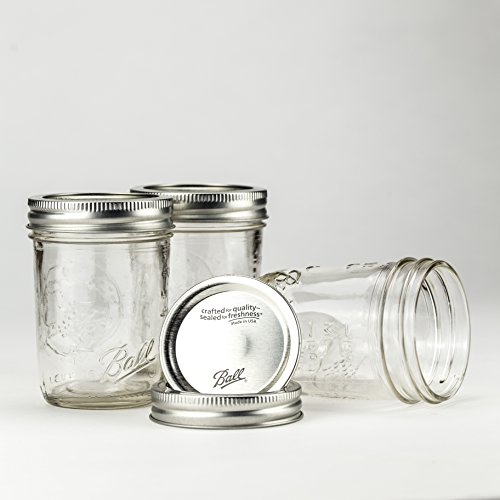 Ball Mason Jar 8oz Regular Mouth 3er/Set