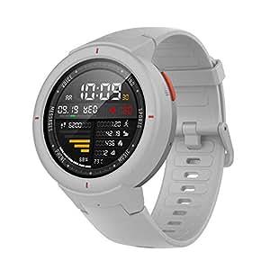 Amazfit Verge Smartwatch Montre Bracelet Tracker d'activité Fitness Podomètre GPS Nouvelle Génération Blanc