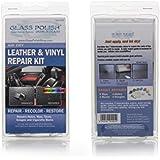 Kit de réparation pour cuir et vinyle DIY–Sèche à l'air (cigarettes répare les trous, accrocs, déchirures, éraflures, brûlures)
