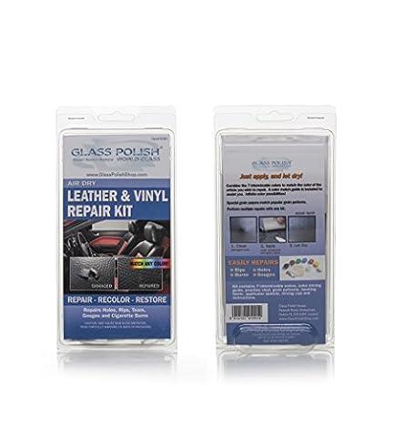 Leder und Vinyl Repair DIY Kit–Air Dry (Repariert Löcher, Risse,