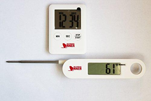 Technoline KT-500 BBQ Thermometer und Küchen-Timer WS-1020 - Das perfekte Dinner
