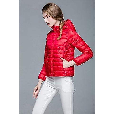 WJP donne ultra leggero rivestimento Packable gi? Outwear tampone piumino W-414