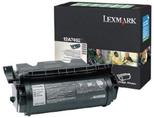 Lexmark 12A7462 Toner black, 21K pages - 21k Toner Schwarz