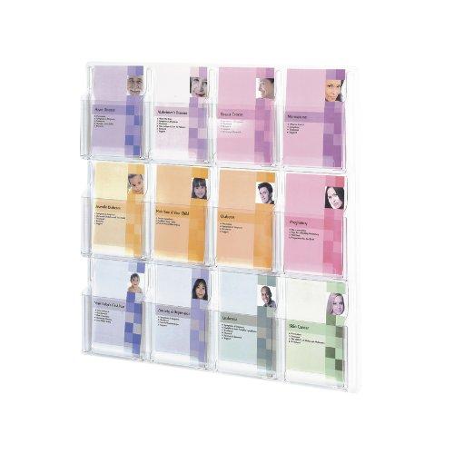 Safco Reveal A5 Taschen-Display - transparent