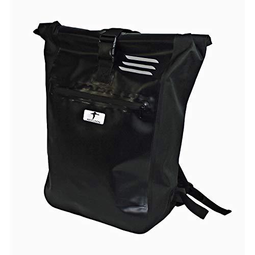 Red Loon Kurier Rucksack Kuriertasche Courier Bag LKW-Plane Backpack schwarz