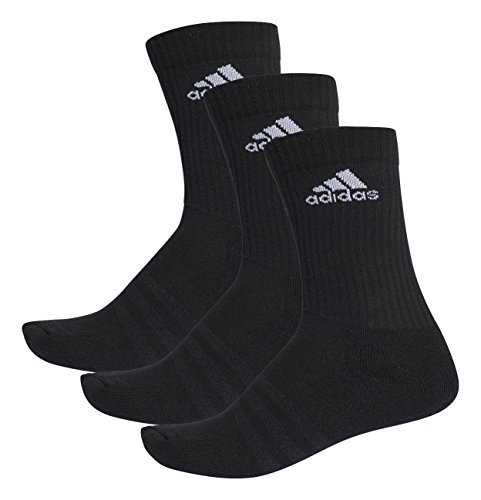 1741f6e04d Adidas 3-Stripes Performance Crew Socks (pair Of 3), Black (Black