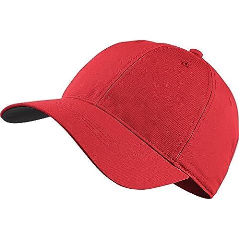 Nike Legacy91Custom Tech Cap–Unisex, One Size multi-coloured red / white Size:MISC