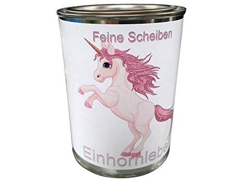 einhorn fleisch eXODA Einhorn Scherzartikel Einhornleber Dosenfleisch in feinen Scheiben Blech Dose