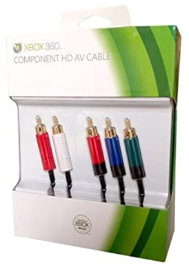 Official Xbox 360 High Definition Component AV Cable (Xbox 360) from Microsoft