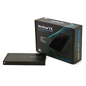 Vantec NexStar TX 2.5-Inch SATA to USB 2.0 External Hard Drive Enclosure
