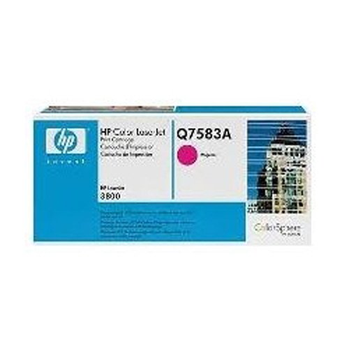HP Color Laserjet CP 3505 DN (Q7583A) Original Toner von HP - Rot/Magenta / ca. 6.000 Seiten -