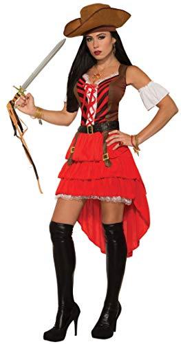 Forum Novelties Damen Kostüm Pirat Vixen Karibik Buccaneer Weich Erwachsene Kostüm STD