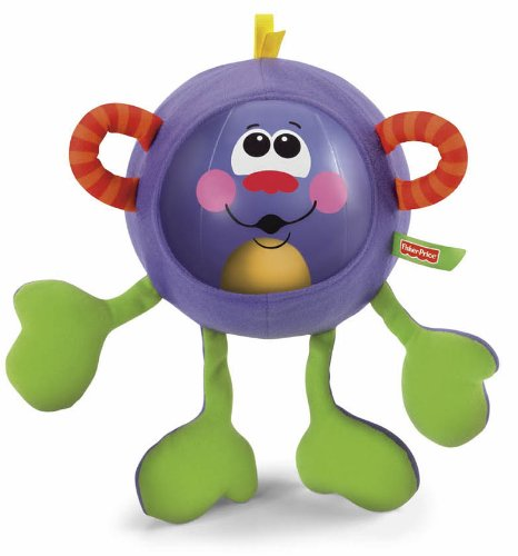 Fisher-Price Go Baby Go Shake And Rattle Monkey Ball  available at amazon for Rs.511