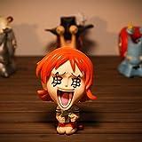 jhsajddaa One Piece Mano per Fare Ornamenti Rufy Nami Bambola Ornamenti Circostante Giocattoli Educativi Modello in Edizione Limitata per Bambini La Quantità di Denaro Nami