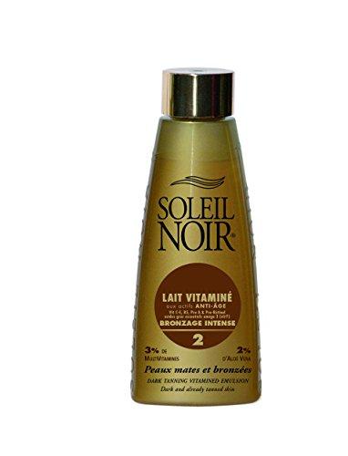 SOLEIL NOIR 50 Lait Vitaminé 2 Bronzage Intense