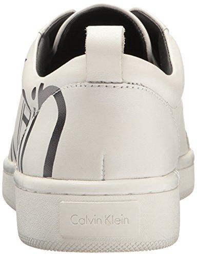 Calvin Klein Danya Cow Silk with Print Logo, Sneakers Basses Femme Mehrfarbig (WBA)