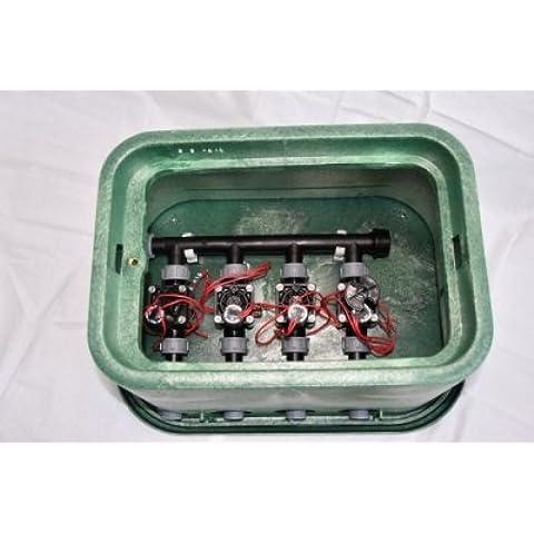 Valvola Box 4posizioni con 4, Valvole magnetica