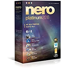 Nero Platinum 2018 - Software De Edición Y Gestión De Vídeo, 6in1, Para Windows 10