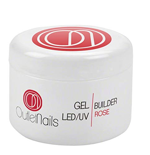 UV Gel Builder Rose 30ml uñas gel - UV/LED Constructor
