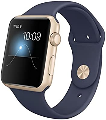 Apple MLC62B/A - Watch Sport 42 mm, color Gold Midnight Blue (importado de Reino Unido)