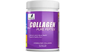Nutrizing Hydrolyzed Collagen Powder For Stronger Bones, Shiny Hair, and Smoother Skin ~ Unflavoured Beef Protein From Grass Fed & Pasture Raised Cattle ~ 100% Natural ~ Tasteless & Easy to Dissolve Powder ~ Works Best To Improve Bones, Joints, Muscles ~ Anti-aging Formula ~ Optimum Amino Acid Profile ~ Collagen Hydrosylate Peptides ~ For Men & Women ~10000 mg Per Serving ~ FREE Bonus E-Books!