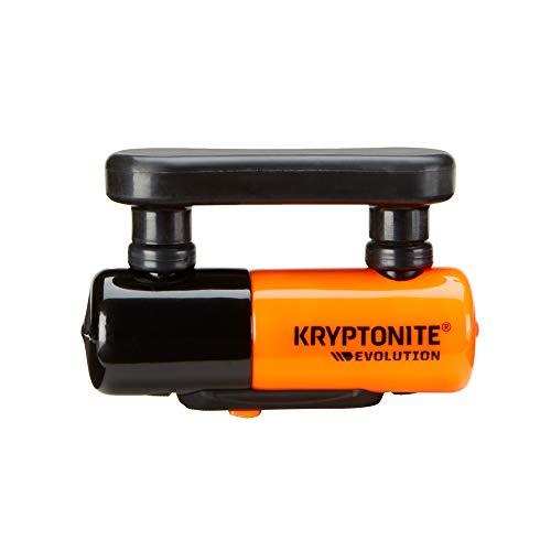 Kryptonite Disc Locks, Blocco Disco Evolution Unisex Adulto, Orange