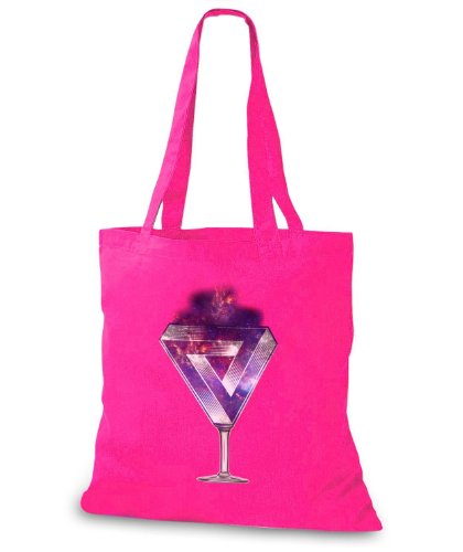 StyloBags Jutebeutel / Tasche The Sky is the Limit Triangle Pink