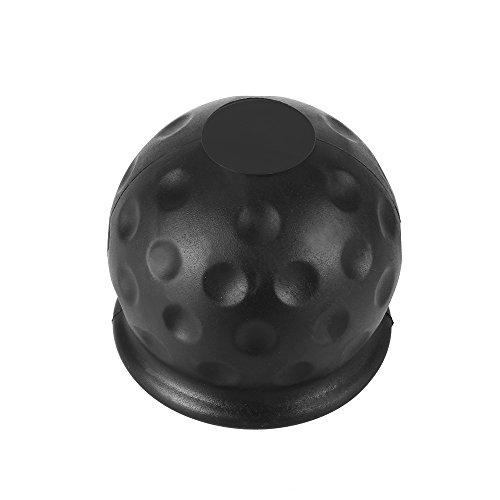 Houkiper Tow Bar Ball Abdeckkappe Anhängerkupplung Empfänger 50mm Anhänger Schwarz Gummi Ball Abdeckkappe