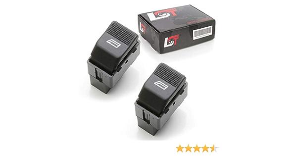 Lst 2x Elektrischer Fensterheber Elektronik Schalter Vorne Links 6k Auto