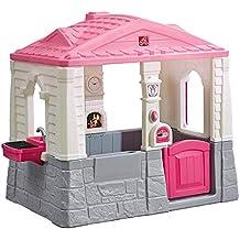 Step 2 - Casa de jardín Neat & Tidy, color rosa (ColorBaby ...