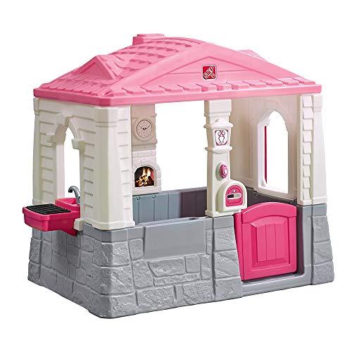 Step 2 Casa de jardín Neat & Tidy, Color Rosa (ColorBaby 85309)